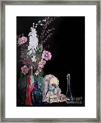 Framed Print featuring the painting Jenibelle by Jane Autry