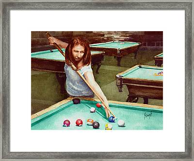 Jenifer Framed Print by Sam Sidders
