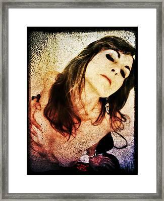 Jenn 2 Framed Print
