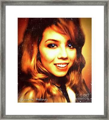 Jennette Mccurdy - Beautiful Framed Print