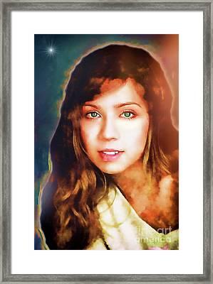 Jennette Mccurdy - Goddess Framed Print