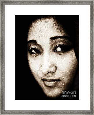 Jenni Framed Print by Emilio Lovisa