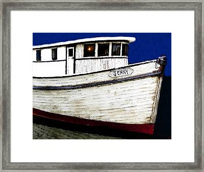 Jenny Framed Print by David Lee Thompson