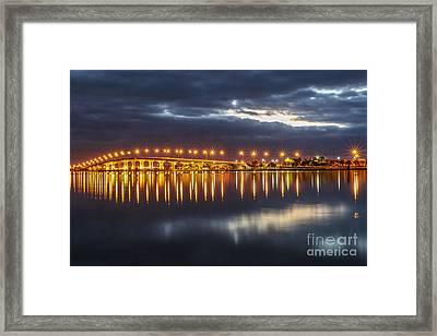 Jensen Beach Causeway #5 Framed Print