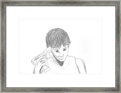Jeremy  Framed Print by Markus Erectus