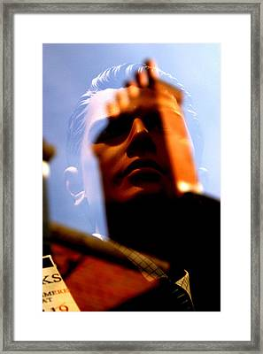 Jeremy Scared Framed Print by Jez C Self