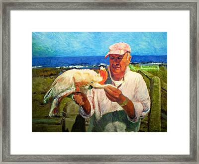 Jergens And Honey Framed Print by Michael Durst