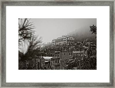 Jerome Az On A Foggy Morning Framed Print