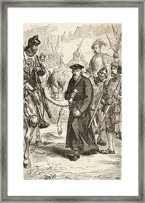 Jerome Of Prague, 1379 To 1416, In Framed Print by Vintage Design Pics