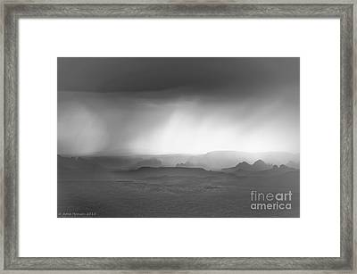Jerome Vista Framed Print by Arne Hansen