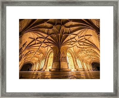 Jeronimos Monastery Lisbon Framed Print