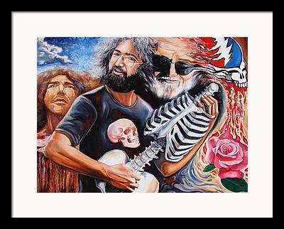 The Grateful Dead Framed Prints