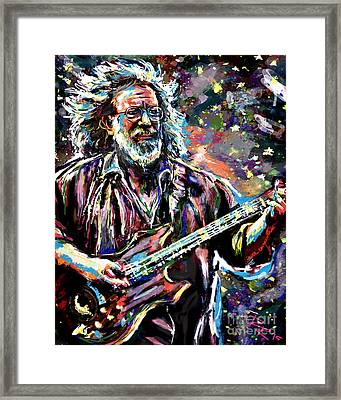 Jerry Garcia Art Grateful Dead Framed Print