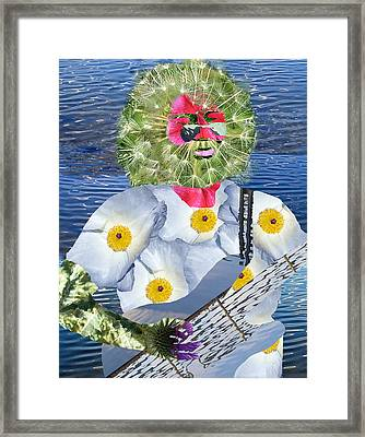 Jerry Garcia Framed Print