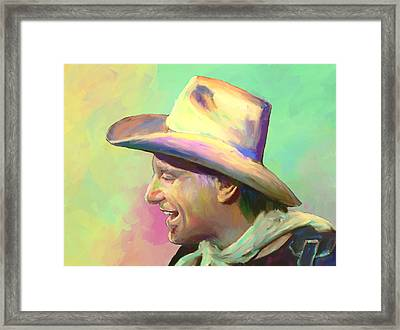 Jerry Jeff The Gypsy Songman Framed Print