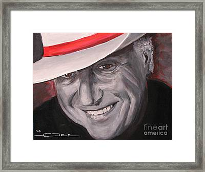 Jerry Jeff Walker Framed Print