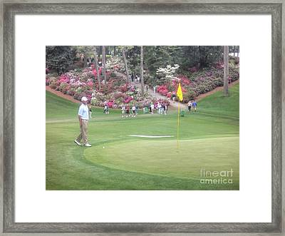 Jerry Kelly Framed Print by David Bearden