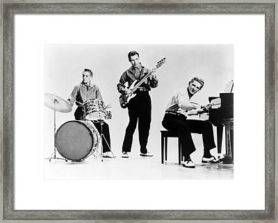 Jerry Lee Lewis B.1935, Right Framed Print by Everett