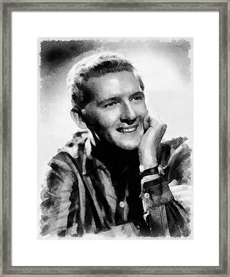 Jerry Lee Lewis, Singer Framed Print by John Springfield