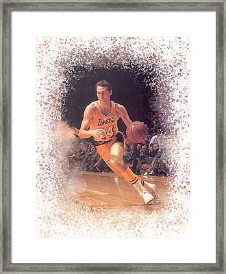Jerry West Framed Print