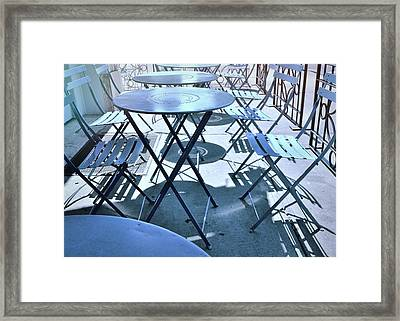Jersey City Cafe Framed Print by JAMART Photography