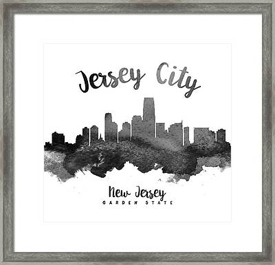 Jersey City Skyline 18 Framed Print by Aged Pixel