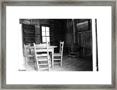 Jersey Lilly Framed Print