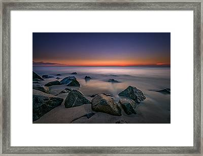 Jersey Shore Tranquility Framed Print