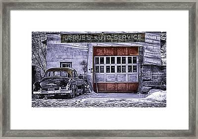Jerues Auto Service Framed Print