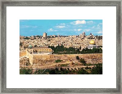 Jerusalem 1977 Framed Print