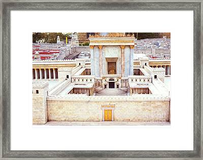 Jerusalem 70 Ad Framed Print by Thomas R Fletcher