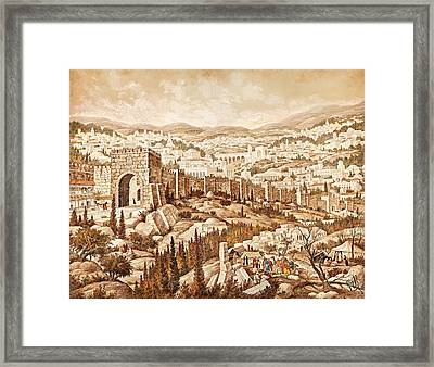 Jerusalem Framed Print by Aryeh Weiss