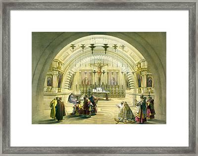 Jerusalem Calvery Framed Print