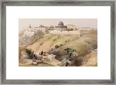 Jerusalem Framed Print by David Roberts