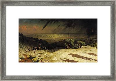 Jerusalem Framed Print by Jean Leon Gerome