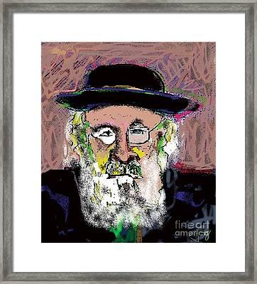 Jerusalem Man No. 2 Framed Print by Joyce Goldin