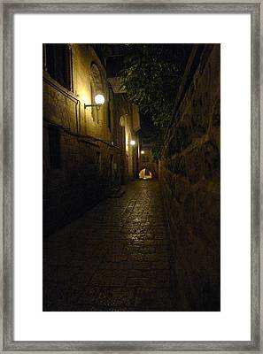 Framed Print featuring the photograph Jerusalem Of Copper 2 by Dubi Roman
