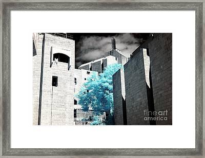Jerusalem Synagogues  Framed Print