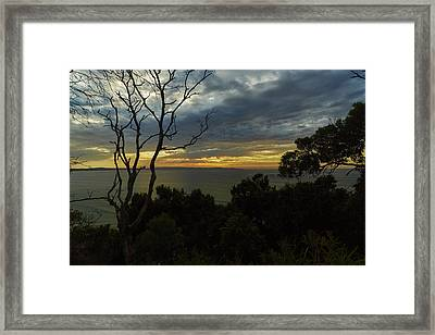 Jervis Bay Sunrise Framed Print