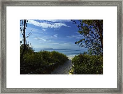 Jervisbay Framed Print