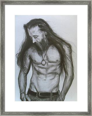 Jesse #4 Framed Print by Adrienne Martino