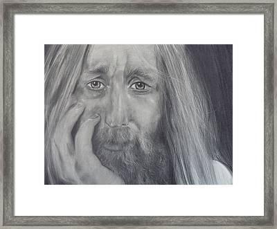 Jesse Framed Print by Adrienne Martino