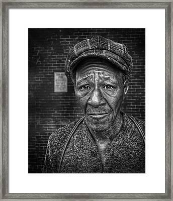 Jesse Bw Framed Print