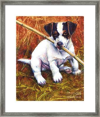 Framed Print featuring the painting Jesse James by Pat Burns