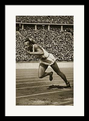 Olympian Photographs Framed Prints