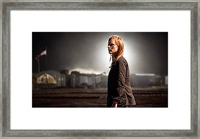 Jessica Chastain Zero Dark Thirty Publicity Photo 2012 Framed Print by David Lee Guss
