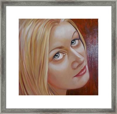 Jessica Framed Print by Gay Henderson