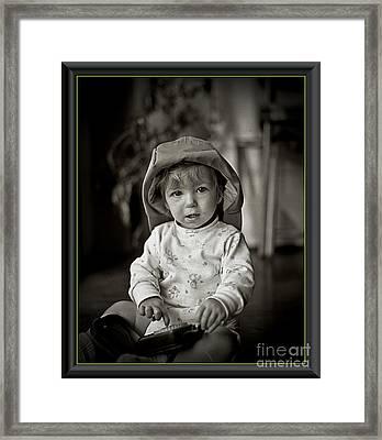 Jessica Framed Print