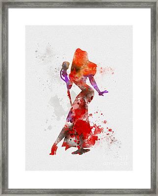 Jessica Rabbit Framed Print