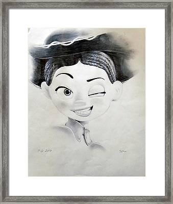 Jessie From Pixar's Toy Story Framed Print